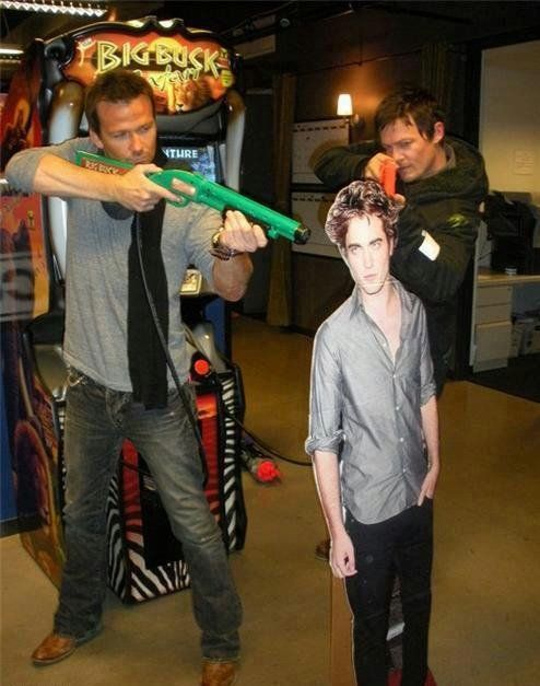 Vampires have nothing on the real Walking Dead - Sean Patrick Flannery and Norman Reedus