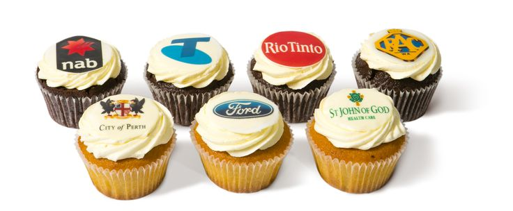 Corporate Cupcakes from Miss Maud