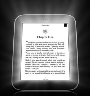 Livraria dos EUA põe à venda primeiro e-reader com tela iluminada
