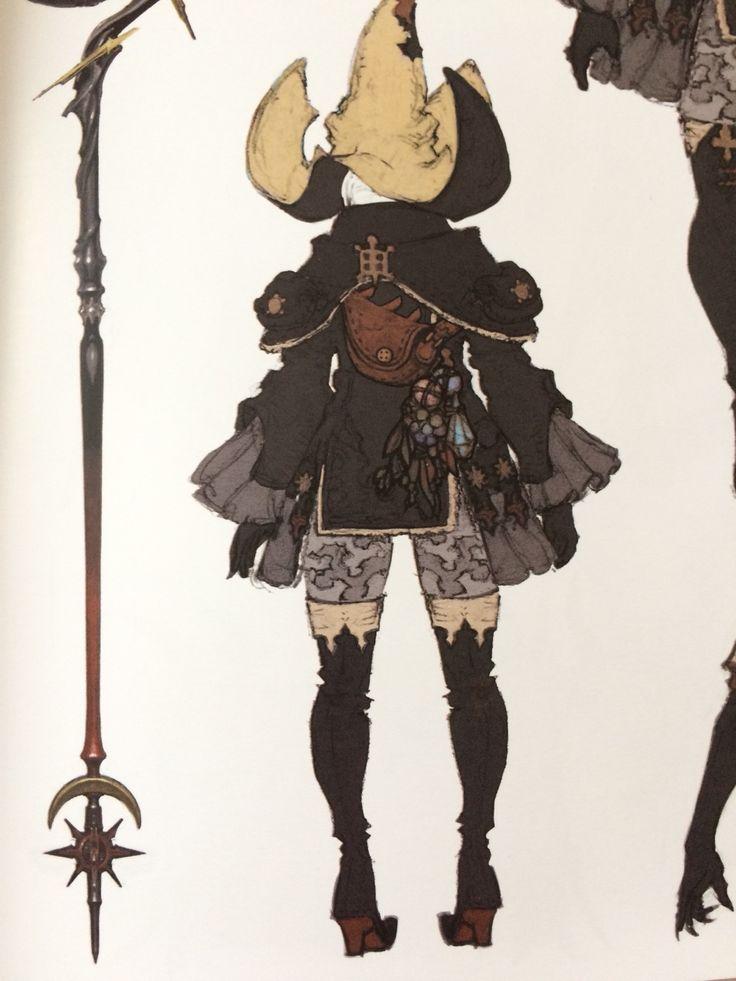 Black Mage AF from Heavensward Artbook