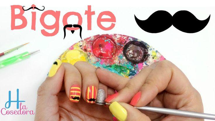 Decoración en las Uñas Bigote Moustache ¡Comparte el video con todas tus amigas y no olvides suscribirte para más Nail Art es GRATIS! http://www.youtube.com/subscription_center?add_user=hlacosedora1