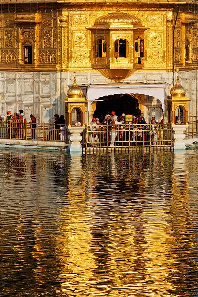 The Golden Temple india. So many places to see and people to meet! http://www.pinterest.com/TakeHomeStories/travel/