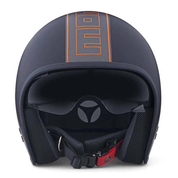 Momo Cruiser Helmet - Black frost / Anthracite | Open Face Motorcycle Helmets | FREE UK delivery - The Cafe Racer