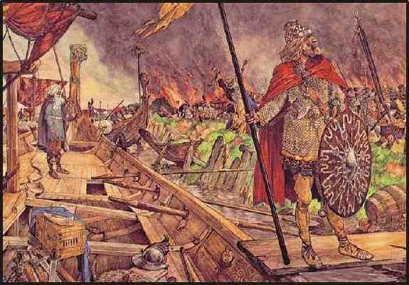 De Vikingen waren strijdlustige strijders. Ze maakten vele reizen en waren echte ontdekkings reizigers. Maar dat waren ze niet alleen ze waren ook nog een keer goede stuurlieden en handelaars