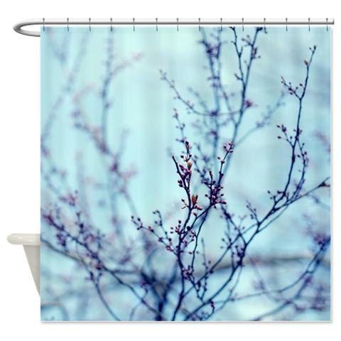Best 25 blue shower curtains ideas on pinterest beach for Blue and purple bathroom ideas