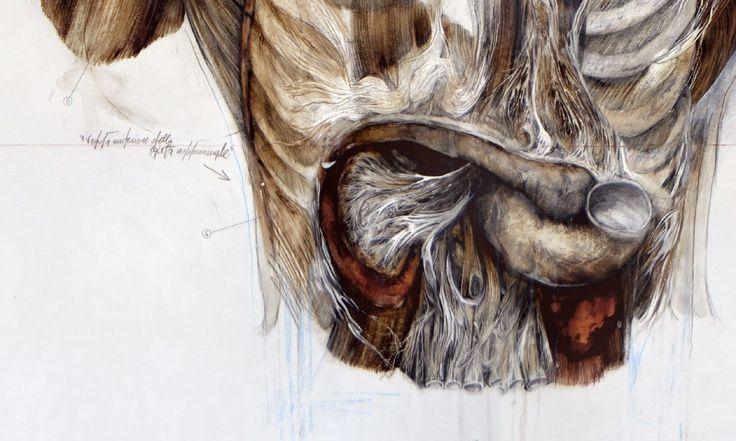 Title: The harvest / Il raccolto Dim: cm 100x150 Tecnique: oil and pencil on canvas / olio, matita su tela Year: 2014