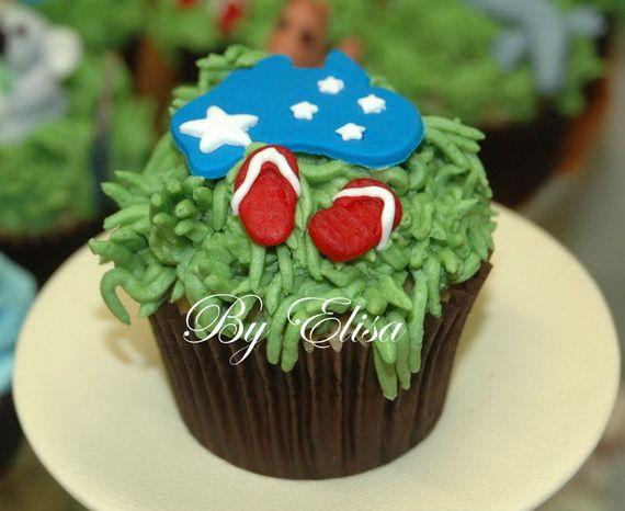Australia Day Decorating Cupcake Ideas