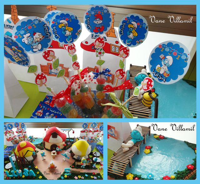 1000+ Images About SMURFS PARTY On Pinterest
