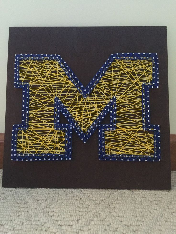 Michigan string art by DesignsByKaylaNicole on Etsy…