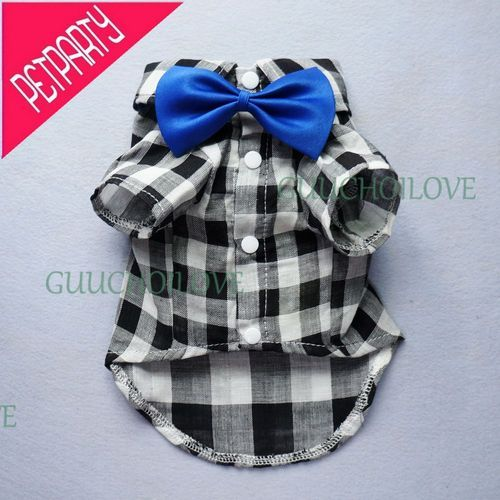 Handsome for Dog Clothes Comfy Dog Shirt Bow Tie Gift Dog Polo Free Shipping ★ | eBay