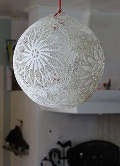 Lámpara de encaje | Decoración