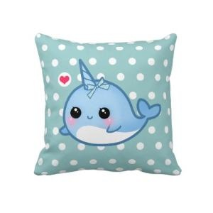 narwhal pillow!!!!! Oh my god this is the best thing ever!