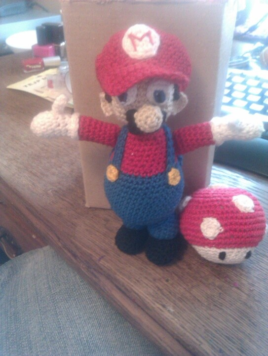 Chroched Mario & toad