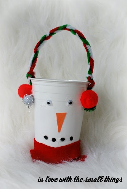 Best 25 plastic cup snowman ideas on pinterest snowman for Plastic snowman