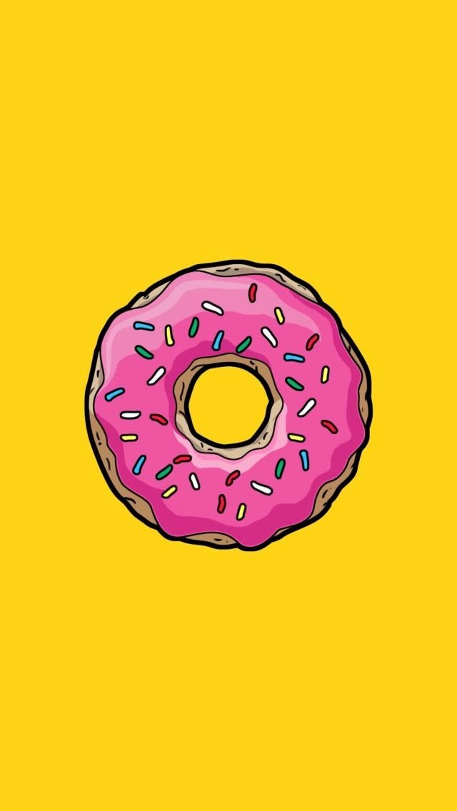 Donut wallpaper. I use it right now! •ᴘʜᴏɴᴇ ᴡᴀʟʟᴘᴀᴘᴇʀs