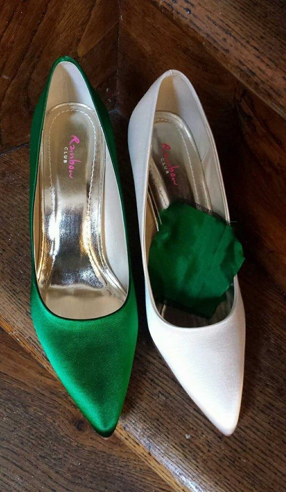 Schoenen uit de Rainbow Club collectie kun je laten kleuren in de gewenste kleur