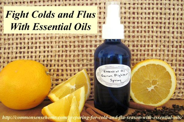 Preparing for Cold and Flu Season with Essential Oils