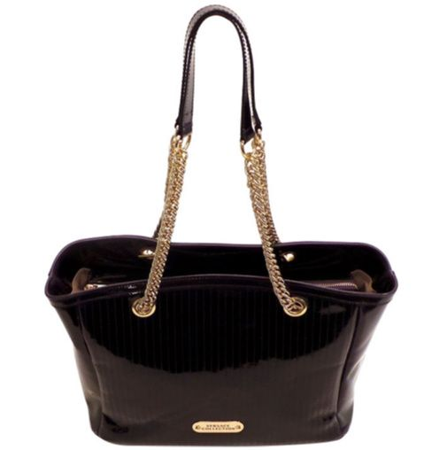 NWT VERSACE COLLECTION BLACK PATENT LEATHER TOTE HANDBAG.  Regular Price $695.00 Special Price $625.50 (10.00% OFF )  http://www.frezdeal.com/productdetails/822/nwt-versace-collection-black-patent-leather-tote-handbag.html
