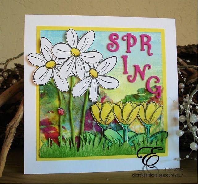 Art Journey Design-team: Lente is in de lucht, nieuwe Art Journey stempels/ Spring is in the air: new Art Journey stamps