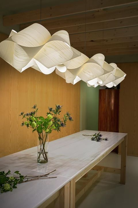 PHOTO OF THE DAY The SWIRL pendant lamp by Ray Power in white cherry wood http://bit.ly/1SYkLJd