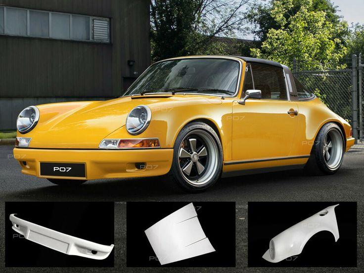 Porsche 911 Targa 68-74  Frontansatz  Heckansatz Heckspoiler  Body Kit #Porsche 911 Targa 68-74 Frontansatz Heckansatz Heckspoiler Body Kit