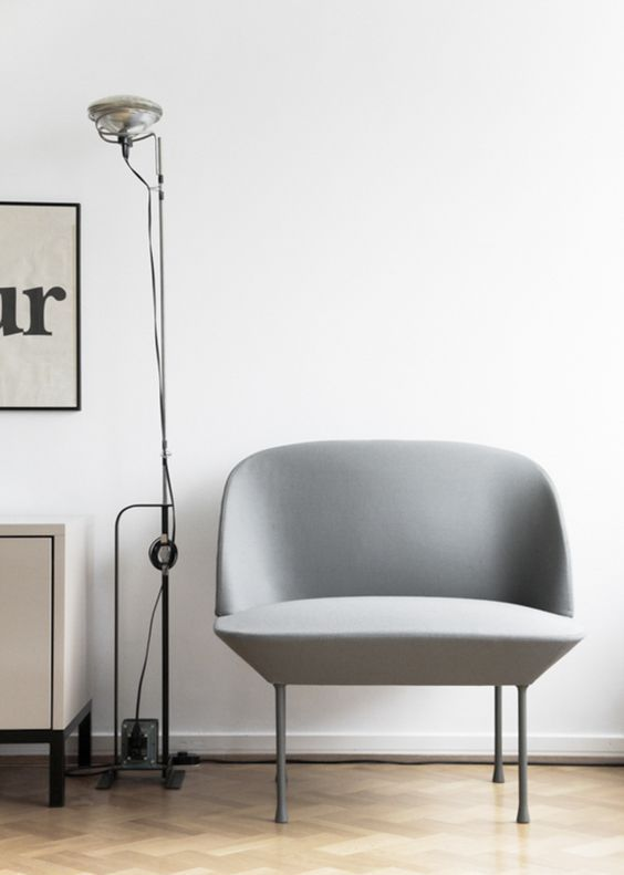 minimal furniture design. the oslo minimalist armchair by muuto danish furniture design minimal scandinavian living room with d