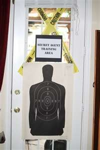 secret agent party - lots of images here