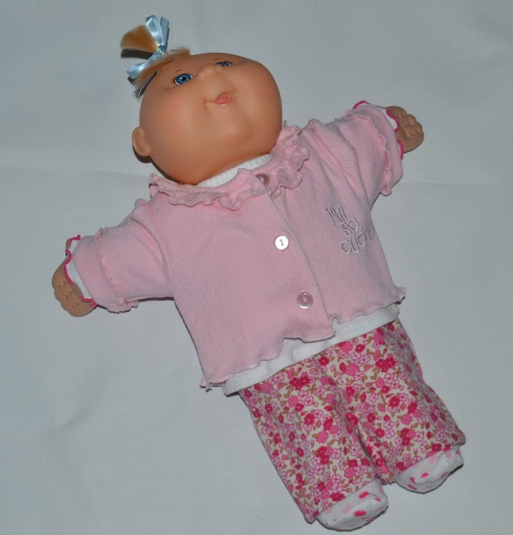119 best Cabbage Patch Clothes images on Pinterest | Baby doll ...