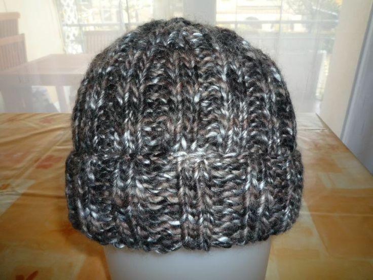 patron bonnet tricot aiguille 5