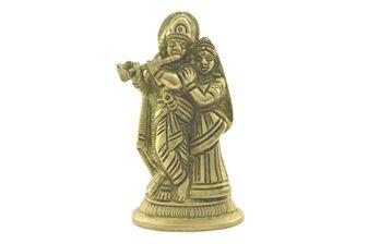 #Brass Solid Murti #Radhe #Krishna #Antique #Finish
