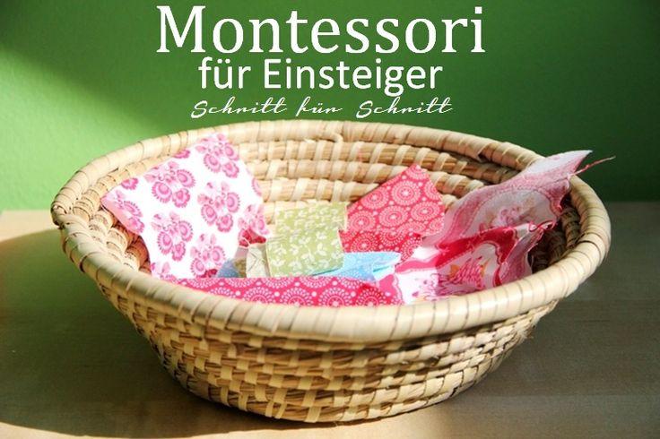 Eltern vom Mars: Montessori für Einsteiger - Teil 1 - Körbchen, Tabletts und offene Regale