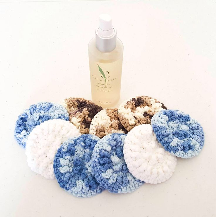 Cotton Face Scrubby - Reusable Make Up Pad - Make Up Remover - Cotton Washcloth -Crochet Washcloth - Face Washcloth -Crochet Face Scrubby by sayitwithyarn on Etsy https://www.etsy.com/au/listing/528443751/cotton-face-scrubby-reusable-make-up-pad