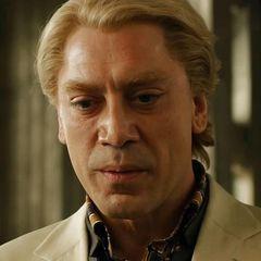 Javier Bardem as Raoul Silva (born Tiago Rodriguez), an ex-MI6 operative-turned-cyberterrorist. | Skyfall (2012)