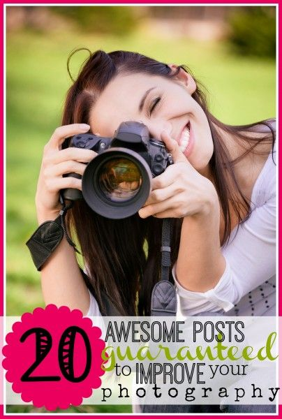 Looking to kick your photography skills up a notch? We've got a list of photo posts with tons of tips and tricks guaranteed to improve your photography! 20 Posts That Will Improve Your Photography - tipsaholic, #photo, #photography, #improvephotos, #pictures, #DIYphotography