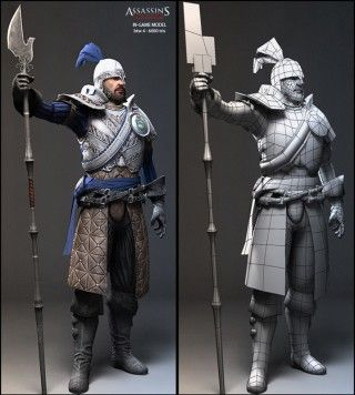 Assassin's Creed 2   Nicolas Collings character modeler portfolio