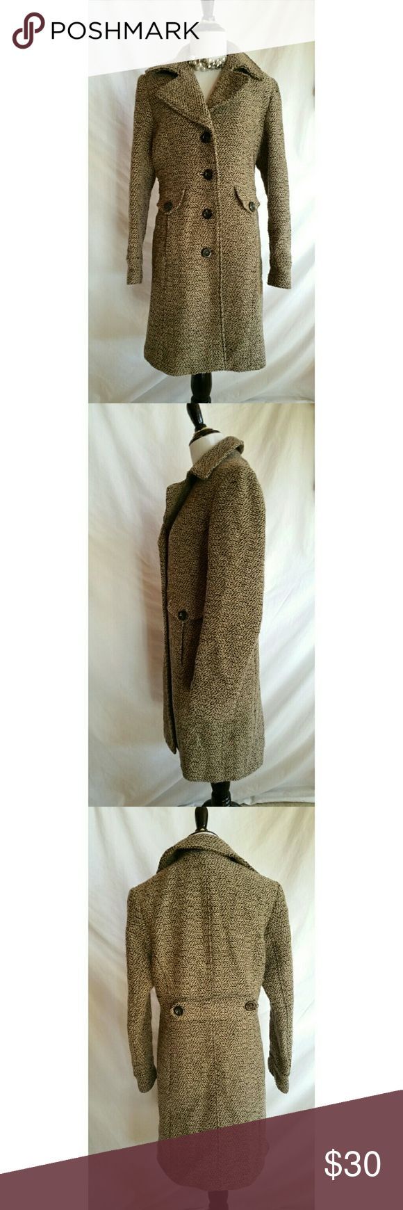Giacca Size M Wool Blend Coat Dress up your outfit with this classy coat!  Wool, nylon blend.   Polyester lining. Gallery Jackets & Coats Pea Coats