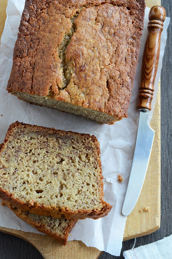 Best Banana Bread {recipe from Cooking Light} I've made this a million times-it really is the best!