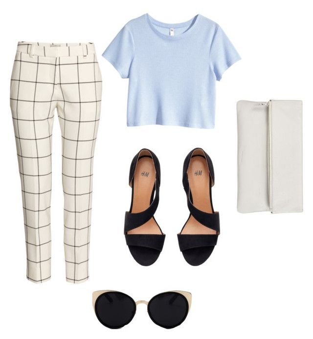 """Fancy-ish Outfit"" by adrguerrero on Polyvore featuring H&M, Una-Home, Whistles, cute, outfit, fancy and aesthetics"