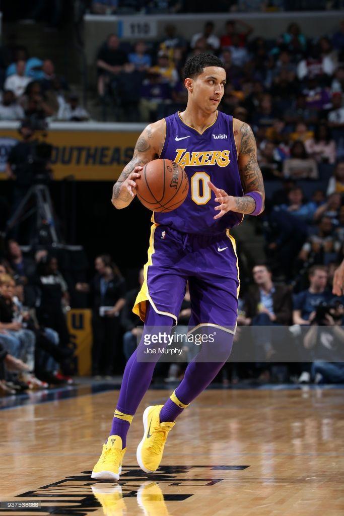 News Photo Kyle Kuzma Of The Los Angeles Lakers Handles The Kyle Kuzma Los Angeles Lakers Basketball Skills