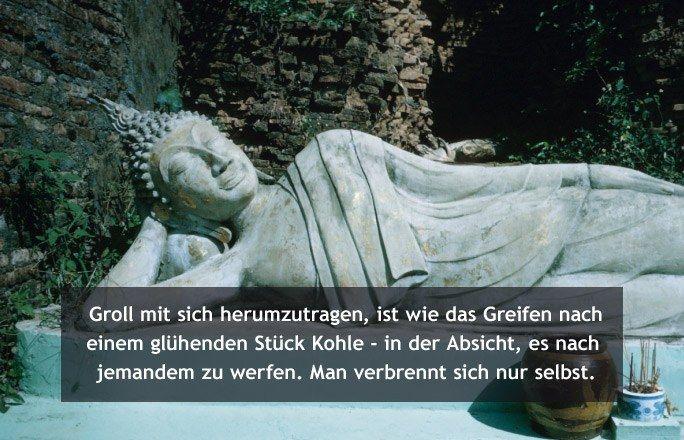 Buddhistische Weisheiten: Groll