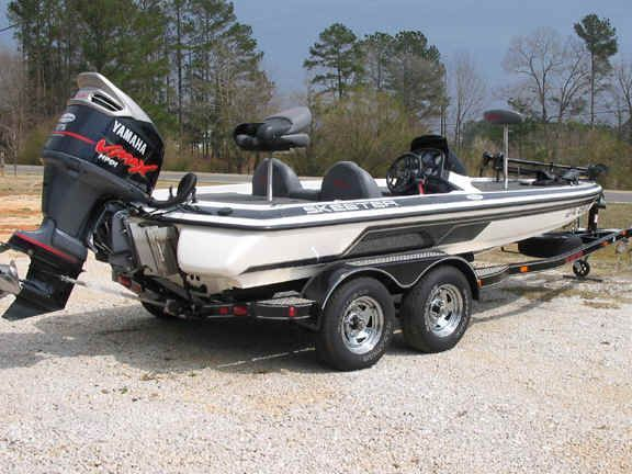 Skeeter Bass Boat #skeeterboatsfishing