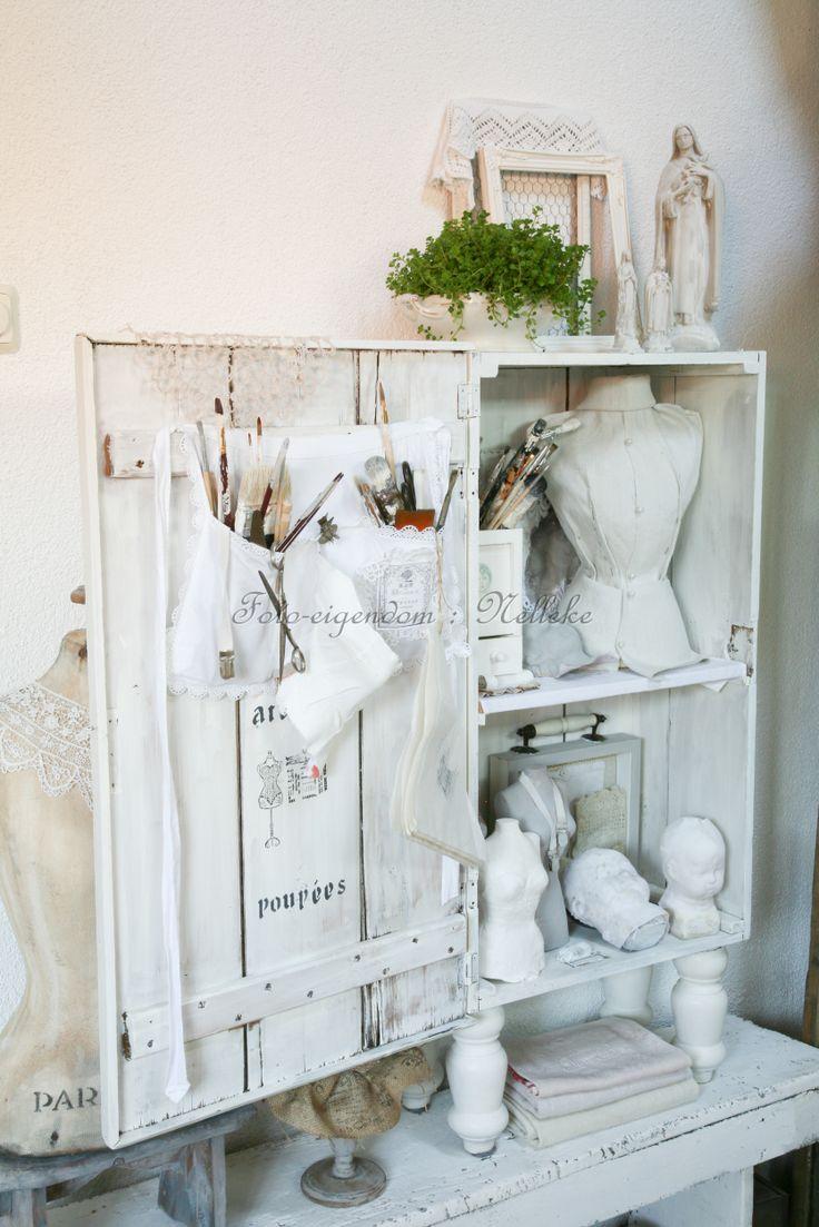 Mijn atelier foto reportage van ons huis voor het tijdschrift shabby style 2013 - Tijdschrift chic huis ...