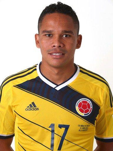 Las fotos oficiales de #Colombia #Fifa #Brasil2014 - Carlos Bacca