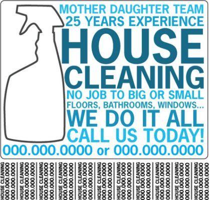 Best 25+ Cleaning service flyer ideas on Pinterest Cleaning - house cleaning flyer