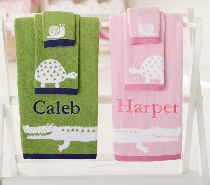 Best Gator Bathrooms Images On Pinterest Bath Accessories - Personalized bath towels for small bathroom ideas