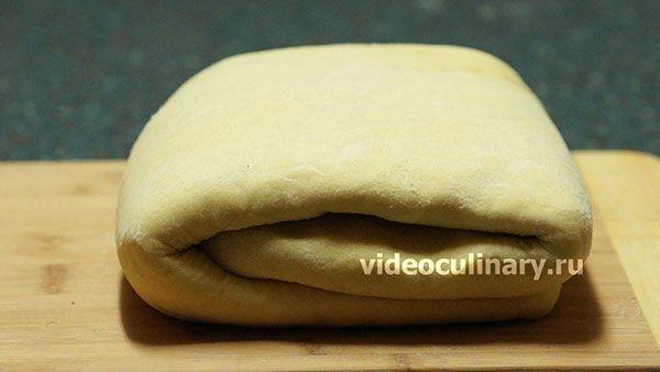 Cлоенное тесто для круассанов
