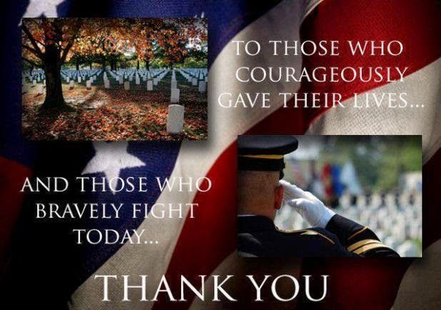 Memorial Day thank you quotes images