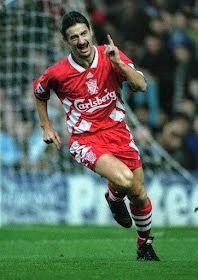 Ian Rush of Liverpool in 1993.
