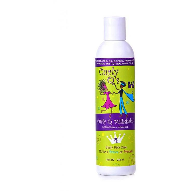 Curly Q Milkshake - Curl Lotion for FINE curly hair- 8oz