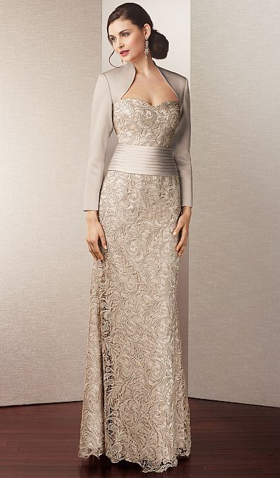 wedding dresses for second marriages | Alyce Jean De Lys 29558 Second Wedding Dress image